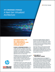 IDG Tech Dossier  Converged Storage A Next Gen Virtualized Architecture
