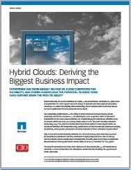 Hybrid Clouds Deriving the Biggest Business Impact