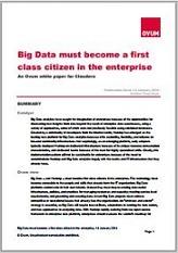Ovum White paper Big Data must become a first class citizen in the enterprise