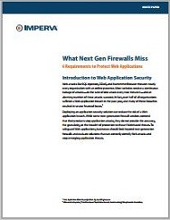 What Next Gen Firewalls Miss 6 Requirements to Protect Web Applications