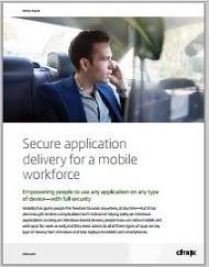 Secure application delivery for a mobile workforce