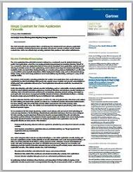 Gartner 2014 Magic Quadrant for Web Application Firewalls