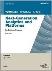 TDWI Best Practices Report Next Generation Analytics and Platforms